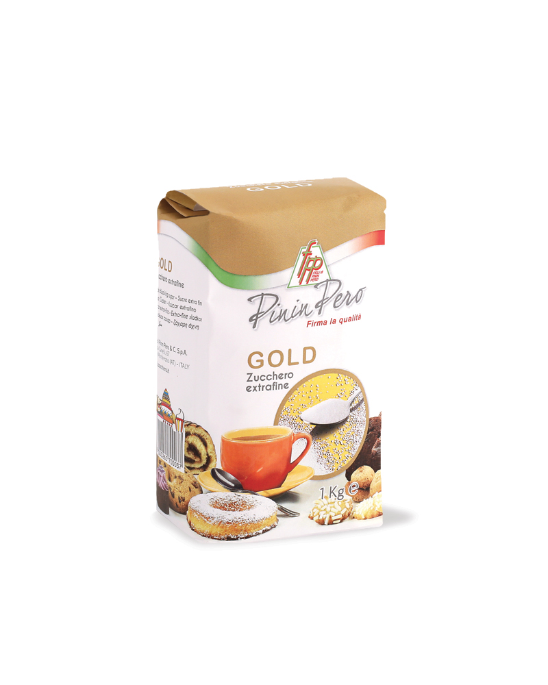 GOLD QUICK DISSOLVING SUGAR 1 kg paper bag